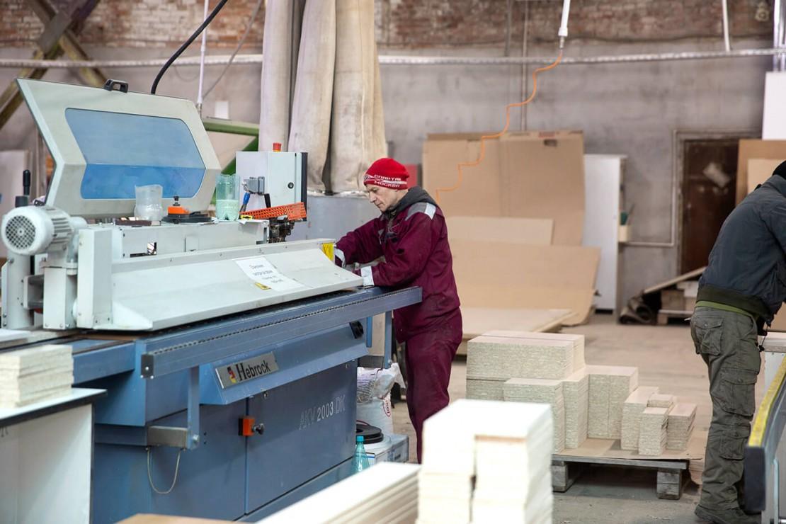 Производство мебели. Фабрика «Подрезково»